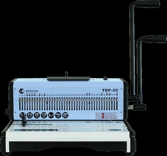 1-MÜHLEN-TDP-20-Çok-Fonksiyonlu-Ciltleme-Makinesi