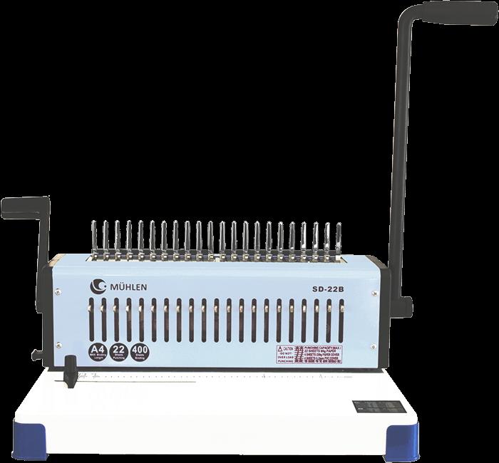 1-Mühlen-SD-22B-Spiral-Plastik-Ciltleme-Makinesi-k