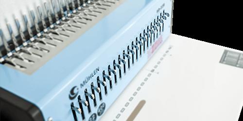 4-Mühlen-SD-22B-Spiral-Plastik-Ciltleme-Makinesi-serbest-pin-sistemi