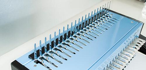 Mühlen EB 20 Spiral Ciltleme Makinesi Bağlama Kapasitesi