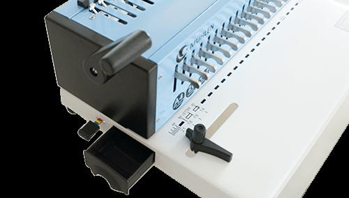 Mühlen EB 20 Spiral Ciltleme Makinesi atık kutusu marj ayarı