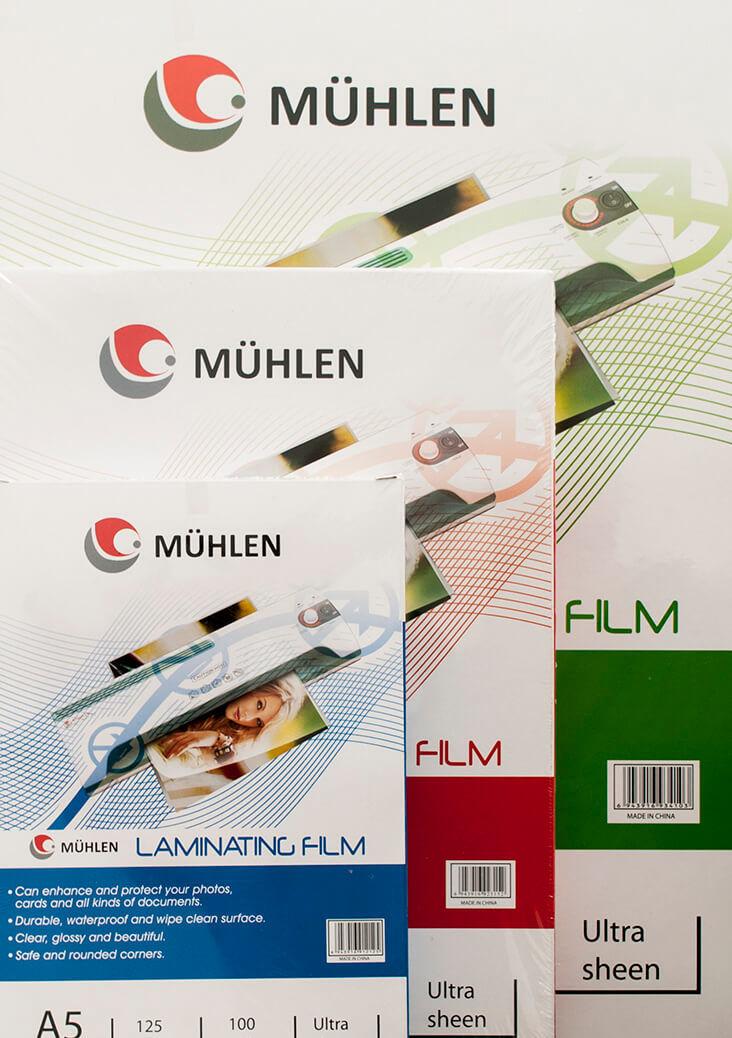Mühlen LAMİNASYON FİLMLERİ