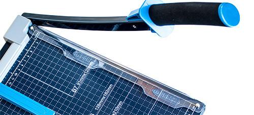 Mühlen-Säge-GL-410-Profesyonel-Kağıt-Kesme-Makinesi-Kollu-Giyotin-Makas-Tarzı-1-Kendiliğinden Bilenen Bıçak Sistemi