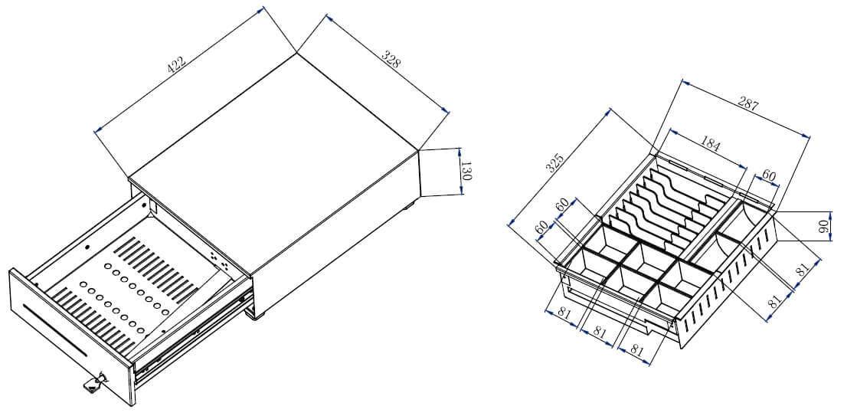 Mühlen Schublade DS 3362-Para Çekmecesi-8