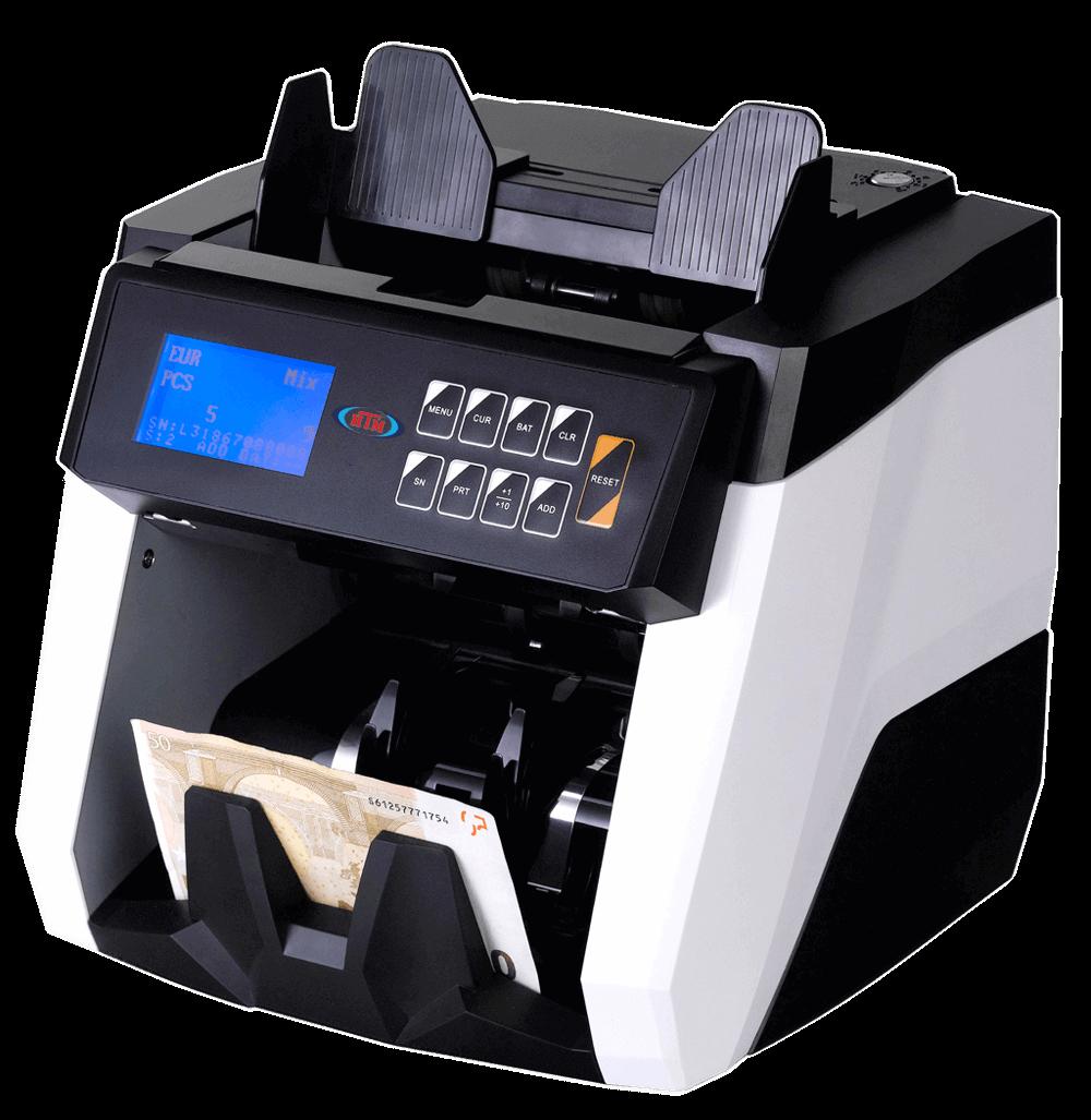 htm scan line profesyonel karışık para sayma makinesi