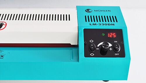 LM-330DN Profesyonel Laminasyon Makinesi - Dijital Ekran