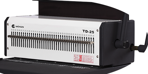 TD 25 - Metal Tel Cİltleme Makinesi-5