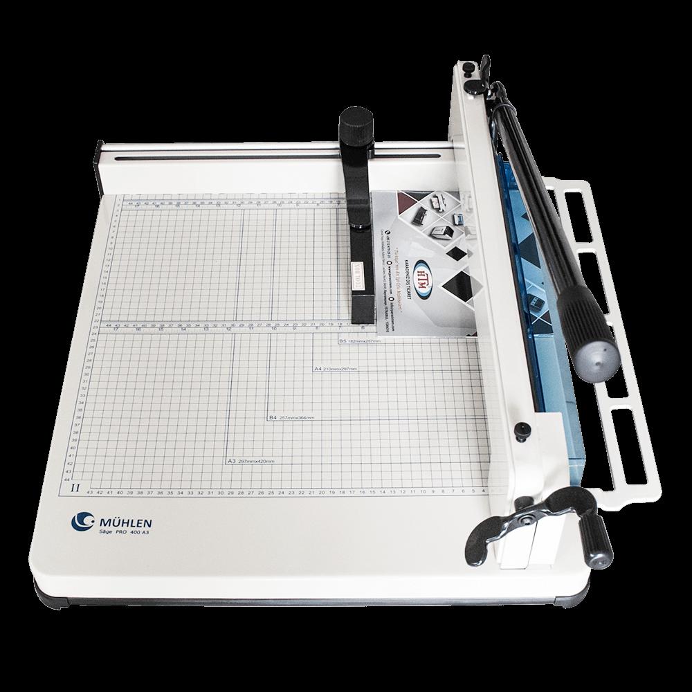 Mühlen Sage Pro 400 A3 Giyotin Makas Makinesi dik