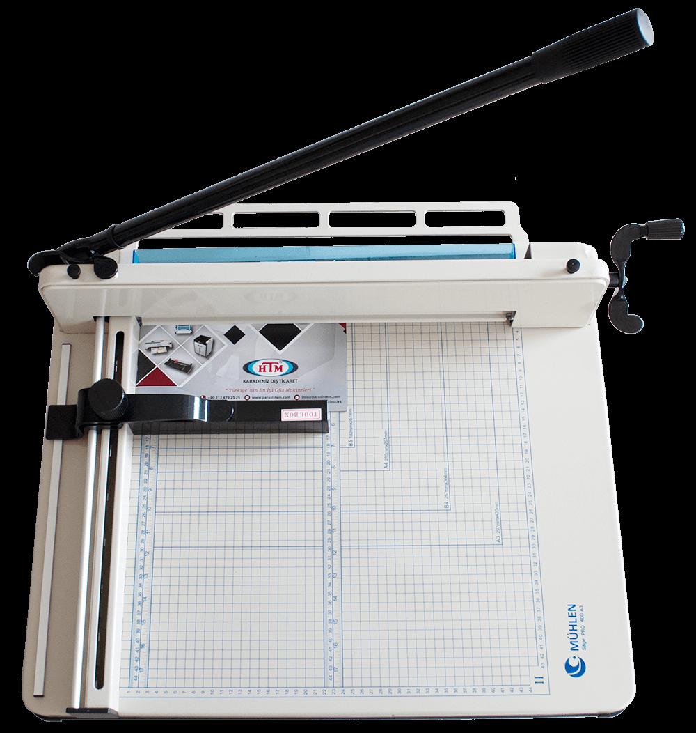 Mühlen Sage Pro 400 A3 Giyotin Makas Makinesi