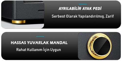 MÜHLEN Schutz Se-60T-LGK ELEKTRONİK PARA VE DEĞERLİ EŞYA KASASI 6