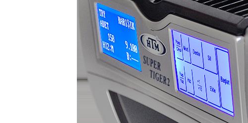 HTM Super Tiger 2 Karışık Para Sayma Makinesi 7