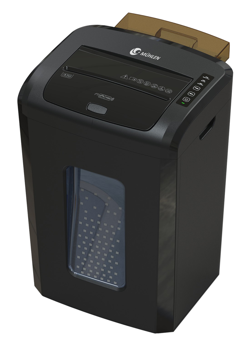 Mühlen VS 100 MA Otomatik Beslemeli Evrak İmha Makinesi 1