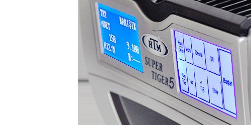 HTM Super Tiger 5 Karışık Para Sayma Makinesi 7
