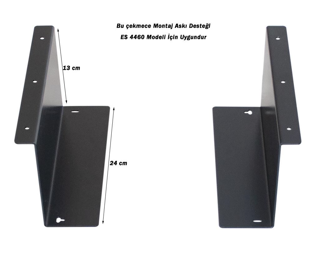 Çekmece Montaj Askısı Desteği ES 4460