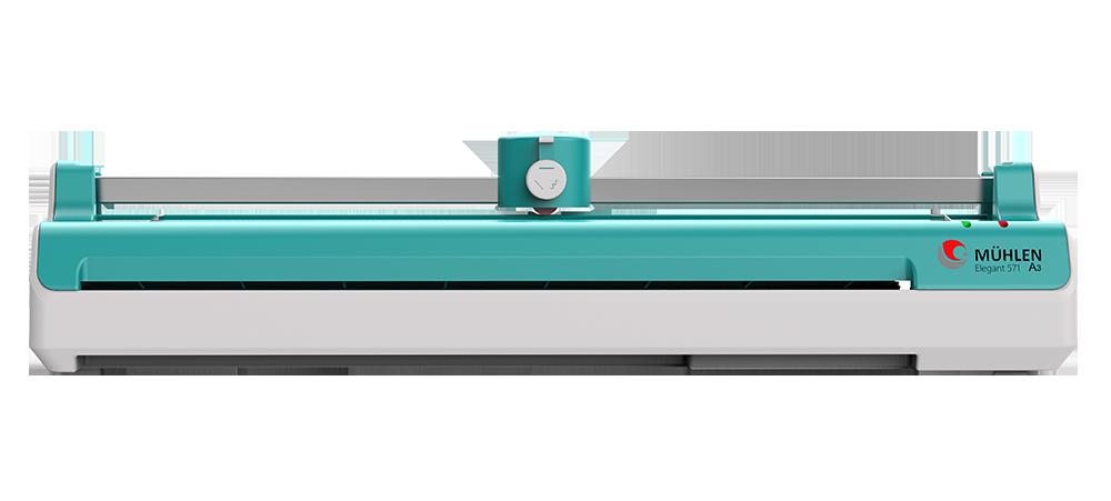MÜHLEN Elegant 571 | Üçü Bir Arada Laminasyon Makinesi | A3 Boyutu 7