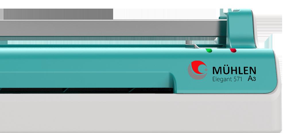 MÜHLEN Elegant 571 | Üçü Bir Arada Laminasyon Makinesi | A3 Boyutu