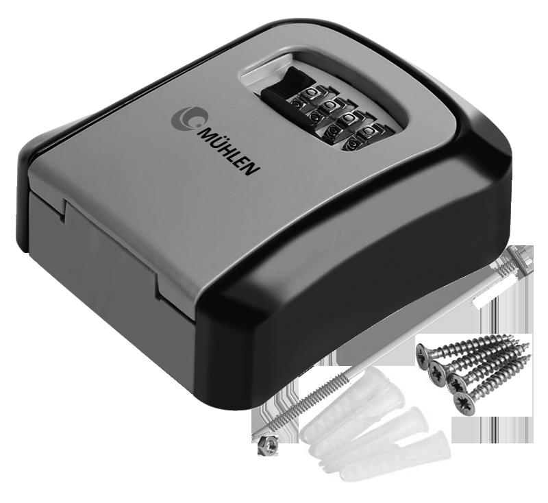 MÜHLEN Safe-Key 3 Duvara Montaj Şifreli Anahtar Saklama Kasası / Kutusu 10