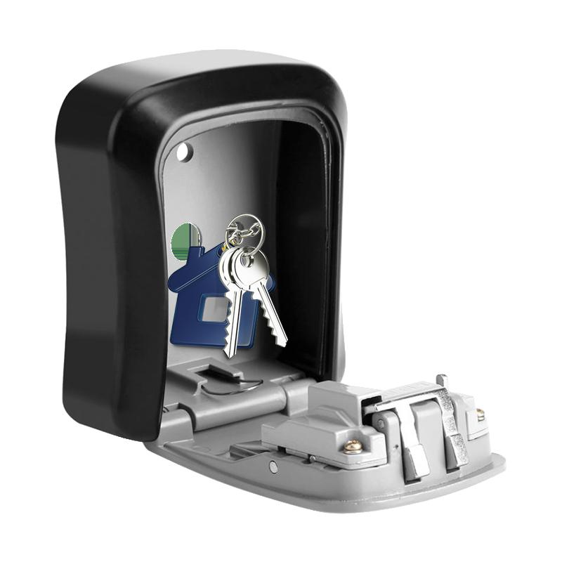 MÜHLEN Safe-Key 3 Duvara Montaj Şifreli Anahtar Saklama Kasası / Kutusu 8