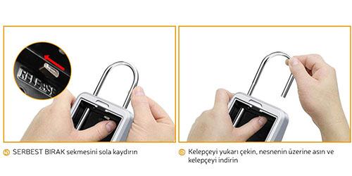 MÜHLEN Safe-Key 7 ASKILI & ŞİFRELİ ANAHTAR KASASI 8