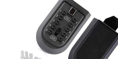 MÜHLEN Safe Key 9 | 10 Numerik Butonlu Şifreli Çelik Anahtar Kasası-11