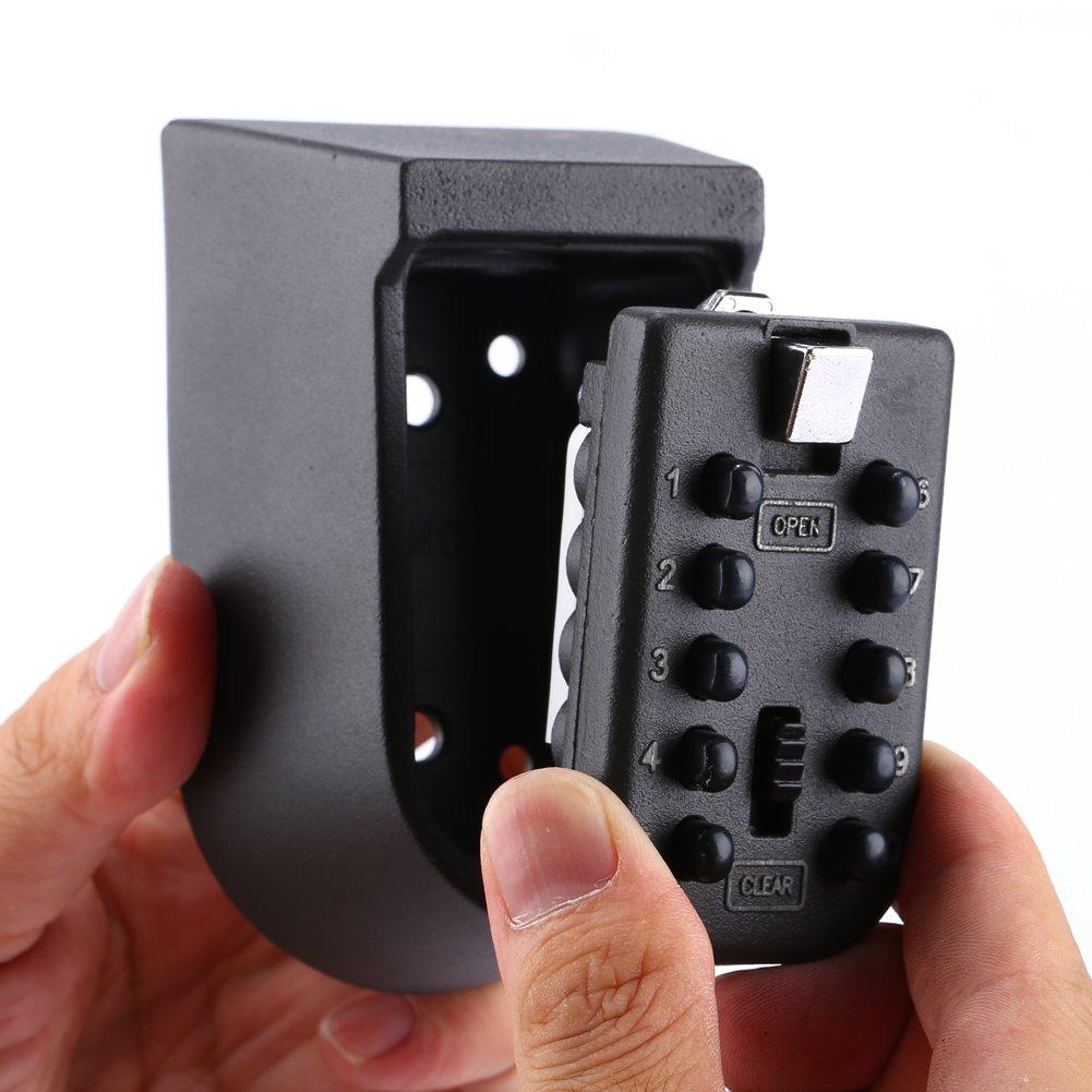 MÜHLEN Safe Key 9 | 10 Numerik Butonlu Şifreli Çelik Anahtar Kasası-6