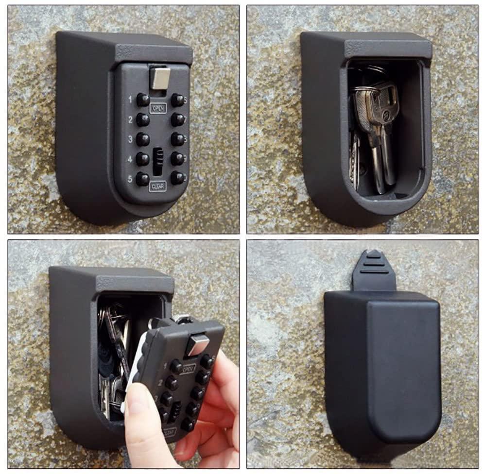 MÜHLEN Safe Key 9 | 10 Numerik Butonlu Şifreli Çelik Anahtar Kasası-9