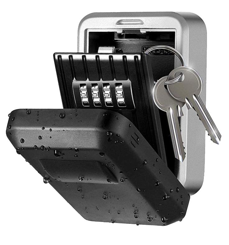MÜHLEN Safe Key 6 Duvara Monteli Şifreli Anahtar Kasası 1