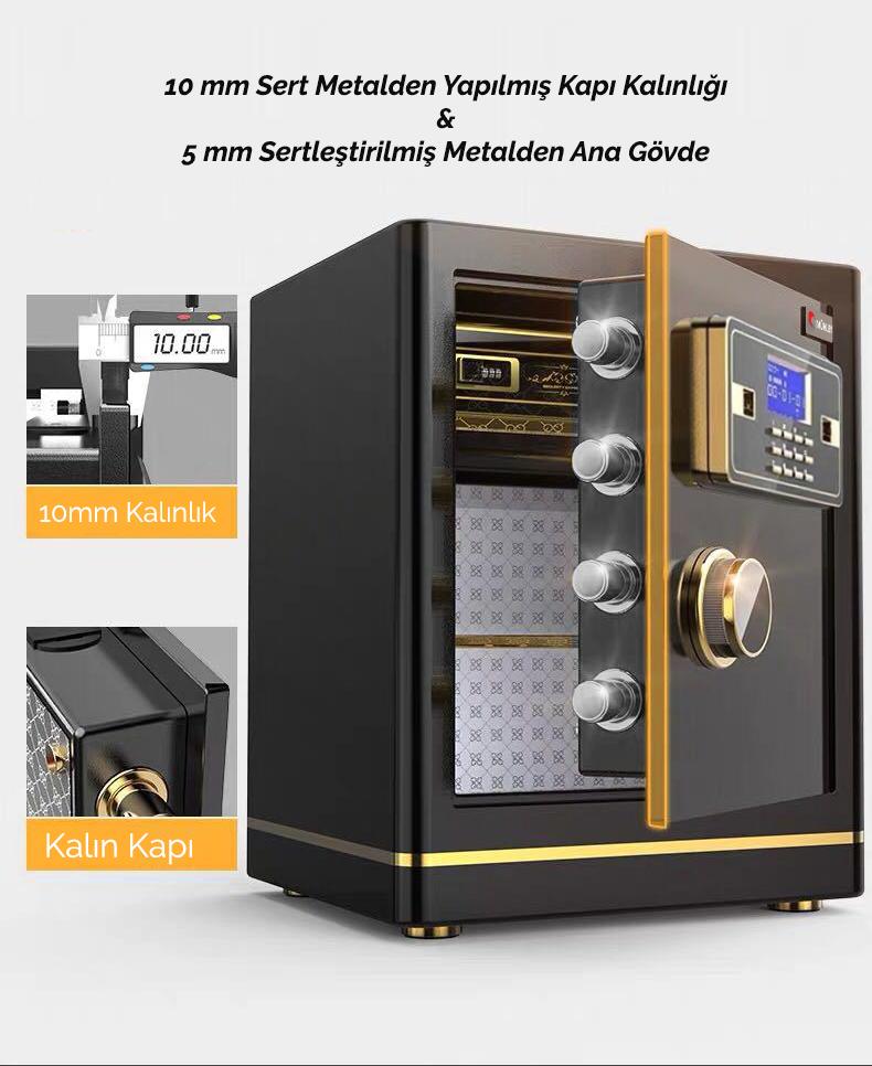 MÜHLEN Schutz 45T Orta Boy Şifreli & Elektronik Para ve Değerli Eşya Kasası 7