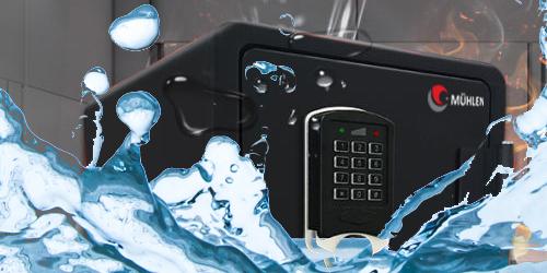 MÜHLEN Fire Safe 97 Yangına ve Suya Dayanıklı Şifreli Çelik Para ve Değerli Eşya Kasası 11