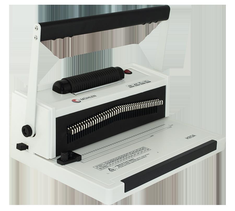 MÜHLEN H20A Helezon Delme & Ciltleme Makinesi 1