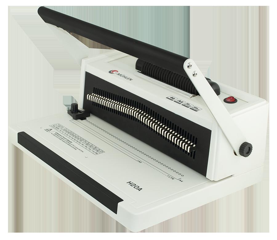 MÜHLEN H20A Helezon Delme & Ciltleme Makinesi 6