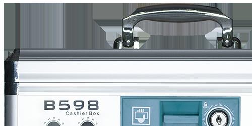 MÜHLEN B598 Büyük Boy Taşınabilir Seyyar Para Çekmecesi Kutusu 13