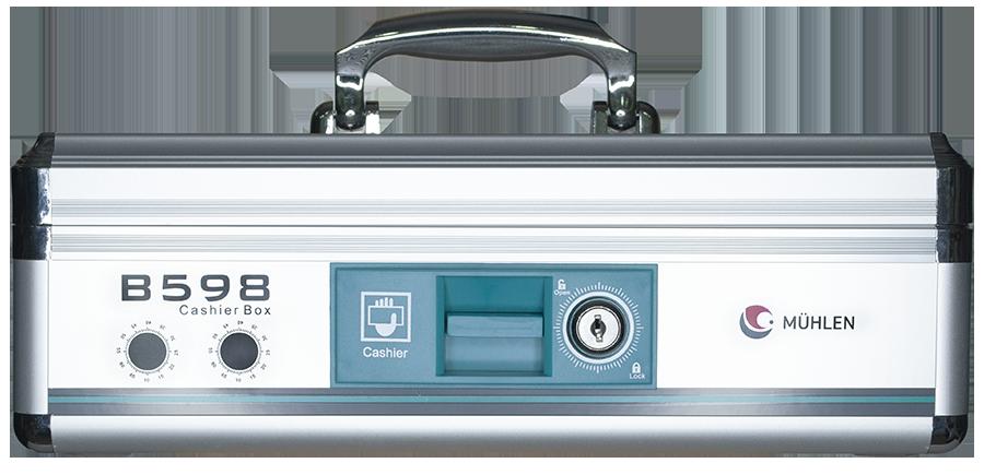 MÜHLEN B598 Büyük Boy Taşınabilir Seyyar Para Çekmecesi Kutusu 2