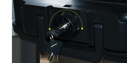 MÜHLEN Fire Bag YG75 Ateşe ve Suya Dayanıklı Portatif Çelik Para Çantası / Kasası 12