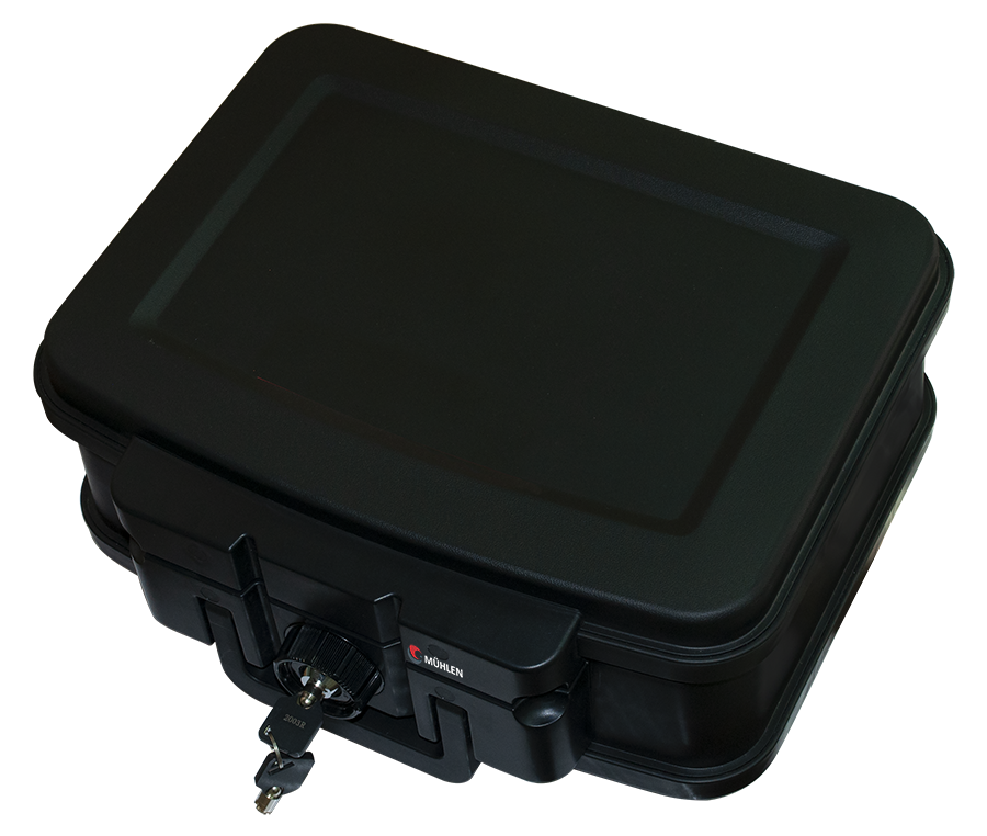 MÜHLEN Fire Bag YG75 Ateşe ve Suya Dayanıklı Portatif Çelik Para Çantası / Kasası 6