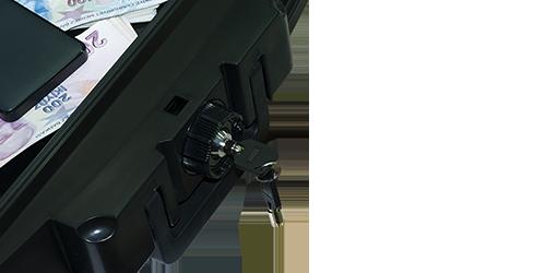 MÜHLEN Fire Bag YG85 Ateşe ve Suya Dayanıklı Portatif Çelik Para Çantası / Kasası 9