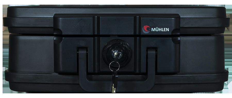 MÜHLEN Fire Bag YG85 Ateşe ve Suya Dayanıklı Portatif Çelik Para Çantası / Kasası 7