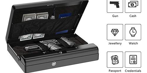MÜHLEN Gun Safe 15D Dijital Şifreli Portatif Silah Kasası 14