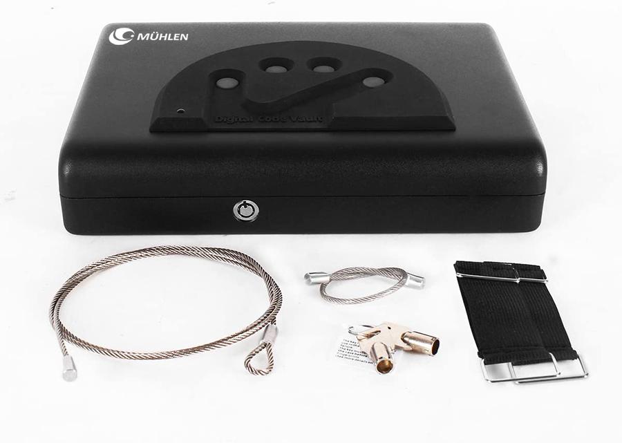 MÜHLEN Gun Safe 15D Dijital Şifreli Portatif Silah Kasası 7