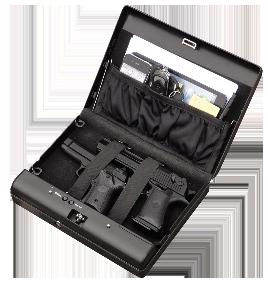 MÜHLEN Gun Safa 17F - Parmak İzli (Biyometrik) Silah Kasası 1