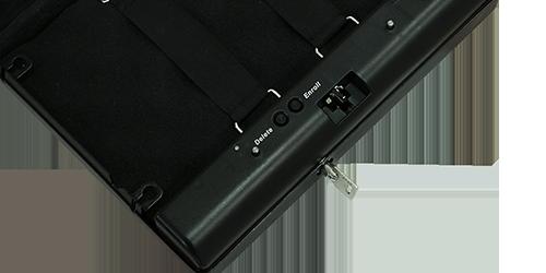 MÜHLEN Gun Safa 17F - Parmak İzli (Biyometrik) Silah Kasası 11