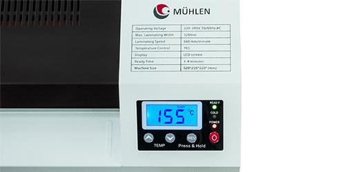 MÜHLEN Iron 635-A3 Dijital Laminasyon Makinesi 12