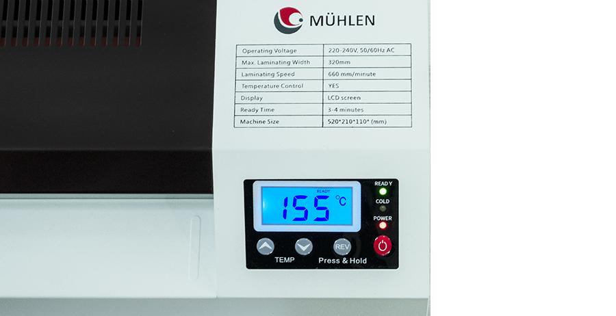 MÜHLEN Iron 635-A3 Dijital Laminasyon Makinesi 2