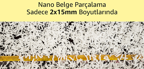 MÜHLEN VS130AF Mikro-Nano Kesim Evrak İmha Makinası 11