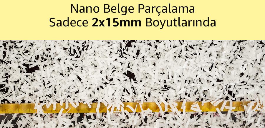 MÜHLEN VS130AF Mikro-Nano Kesim Evrak İmha Makinası 4