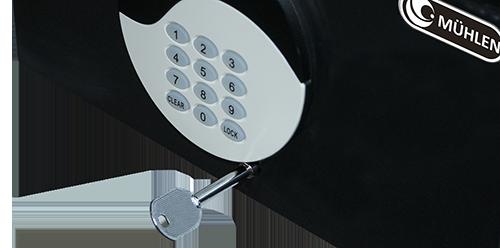MÜHLEN Oben KS333 Çekmece Tipi Şifreli Çelik Para Kası 14