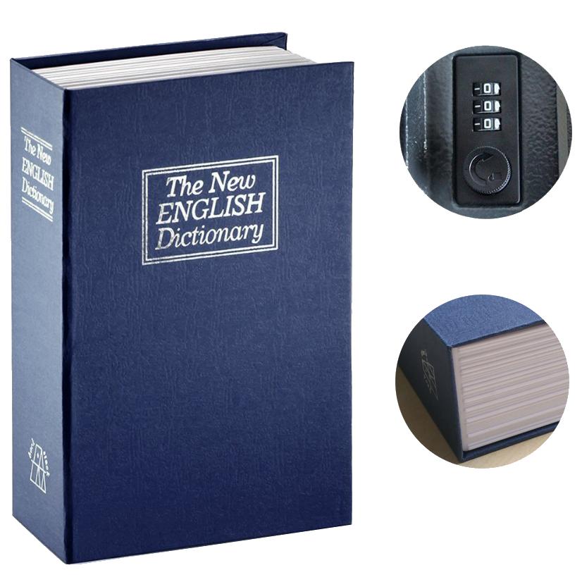 MÜHLEN Secret Safe 180 Orta Boy Kitap Şekli Gizli Şifreli Para ve Değerli Eşya Kasası 5