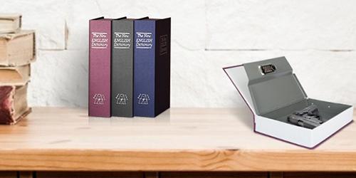 MÜHLEN Secret Safe 240 Büyük Boy Kitap Şekli Gizli & Şifreli Para ve Değerli Eşya Kasası 9