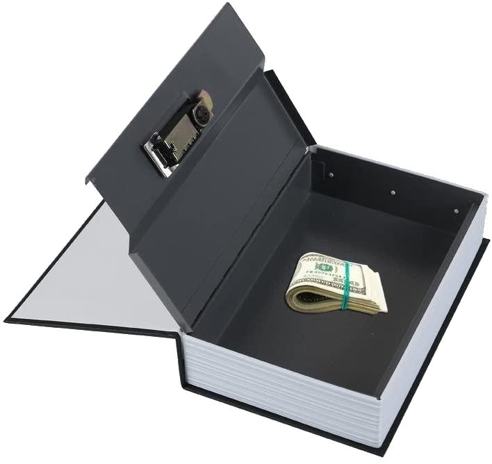 MÜHLEN Secret Safe 240 Büyük Boy Kitap Şekli Gizli & Şifreli Para ve Değerli Eşya Kasası 7