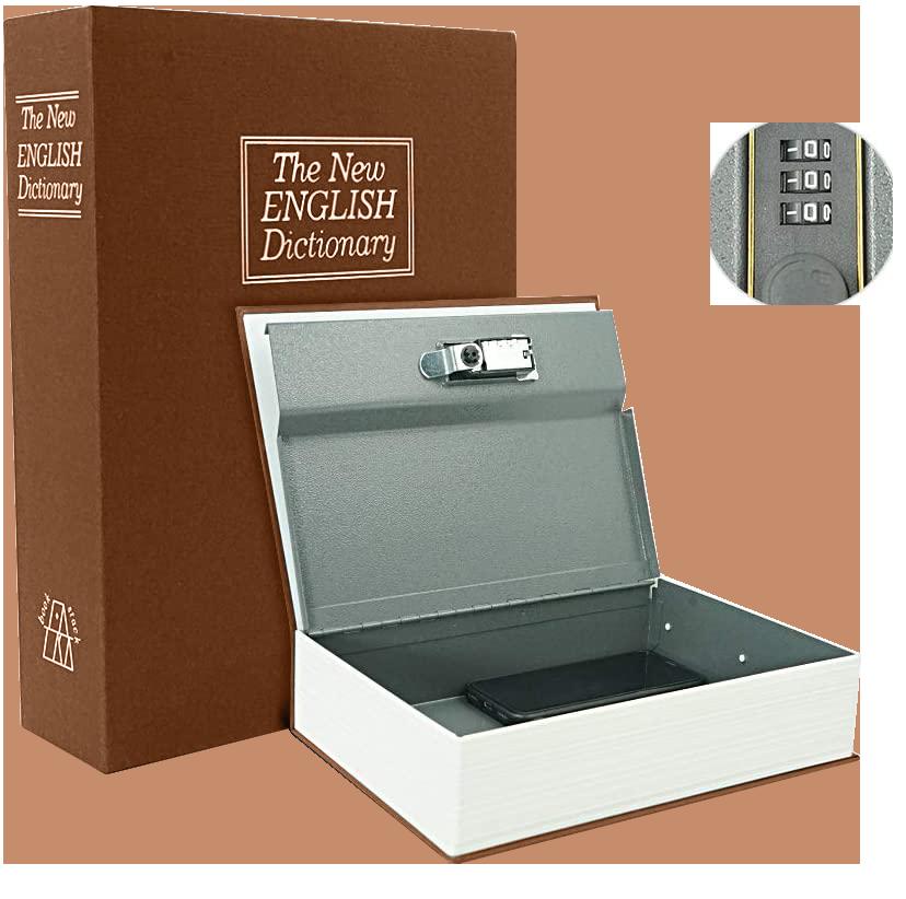 MÜHLEN Secret Safe 265 En Büyük Boy Kitap Şekli Gizli Şifreli Para ve Değerli Eşya Kasası 2